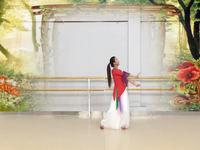 陕西延安飞鸿广场舞 好一朵女人花  表演 个人版