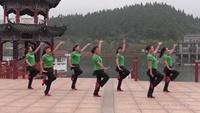 郴州桂阳女人花广场舞 中国茶 表演