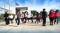 啊英廣場舞《兔子舞》編舞麗萍老師演示團隊完整版演示及口令分解動作教學