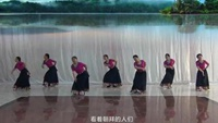 山東輕舞飛迎+山東行走的花舞隊+《穿行》附正背表演口令分解動作分解教學