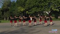 长青街舞之韵舞蹈队一队舞蹈 今生相爱 表演 团队版 完整版演示及口令分解动作教学