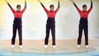 玫香广场舞原创健身操《一晃就老了》正背面附教学正背面演示及口令分解动作教学和背面演