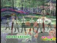 杨艺舞蹈 军旗下的我们 表演 正背面口令分解动作教学演示