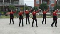 美丽大街舞队  歌在飞完整版演示及分解教学演示