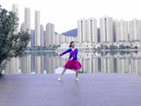 芙蓉美伊广场舞 在希望的田野上 正背表演与动作分解