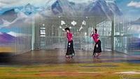 大庆银河子龙全国明星队  唐古拉 编舞:饶子龙经典正背面演示及口令分解动作教学