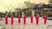 湖南和諧廣場舞《國韻》正背面演示及口令分解動作教學和背面演