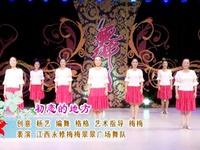 贺月秋广场舞 西藏桑巴 正背表演与动作分解