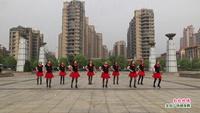 新余渝水抱石湖佳木斯队舞蹈  红红的线 表演 团队版 原创附教学口令分解动作演示