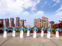 江西玲珑飞雨广场舞  好一朵女人花 表演