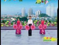 杨艺广场舞 同一个世界同一个梦想 讲课附正背面口令分解教学演示