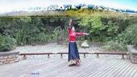 四川南充素素广场舞《走出空城走不出想念》编舞:春正背面演示及口令分解动作教学和背面演