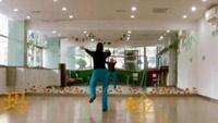 金金姐姐广场舞-玛尼情歌完整版演示及口令分解动作教学