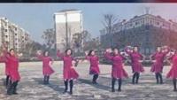 大许烟雨广场舞《中国梦飞起来》版本2正背面口令分解动作教学演示