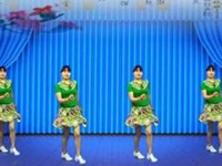 益馨廣場舞《唐古拉》DJ原創自由32步附教學附正背表演口令分解動作分解教學