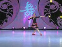 贺月秋广场舞 哦想 背面展示 正背面演示及口令分解动作教学和背面演