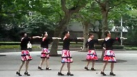 上海芳華廣場舞《向上攀爬》正反面演示及分解動作教學