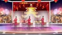 柳絮《拜新年》编舞制作﹕霞依~舞曲制作﹕黄峰原创附正背面教学口令分解动作演示