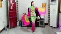 桃都廣場舞《豐收年》原創異地姐妹合屏經典正背面演示及口令分解動作教學