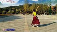 緣舞廣場舞《穿行》編舞:応子。演唱:韓紅正反面演示及分解動作教學