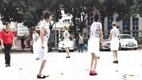 廣州芬姐姐妹廣場舞《兔子舞》正背面演示及口令分解動作教學和背面演