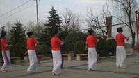 陕西莉娜舞队《女人花开》三八节献礼正背面演示及慢速口令教学