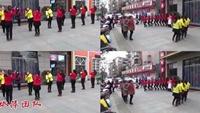 依萍廣場舞《兔子舞》三連環正背面演示及口令分解動作教學