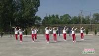 安峪舞蹈隊廣場舞  火了火了火 表演 團隊版 正背面演示及慢速口令教學