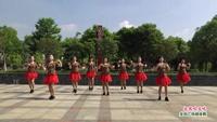 分宜人民廣場健身隊  北風吹又吹 表演 團隊版 正背面演示及口令分解動作教學