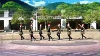 崀山步行街舞蹈队《甜蜜蜜》编舞:格格 制作:依叶完整版演示及口令分解动作教学