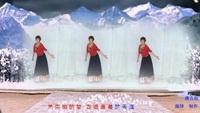 山东聊城阳谷幸福舞蹈队《唐古拉》编舞:饶子龙正背面演示及口令分解动作教学和背面演