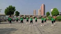 黃陂美好舞蹈隊廣場舞 中國味道 表演 團隊版附正背面口令分解教學演示
