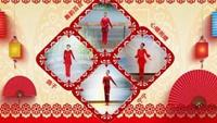 鸽子《最亲的人》七仙女新春合屏 编舞:王广成口令分解动作教学演示