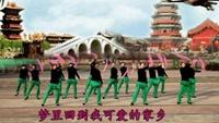 成璞广场舞《再唱洪湖水--2》附正背表演口令分解动作分解教学