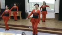 鹰歌燕舞队舞蹈《燃烧我的爱》正背面演示及口令分解动作教学和背面演
