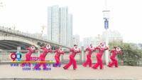 湖南省冷水江市飞燕舞蹈1队舞蹈 葬花吟 表演 团队版