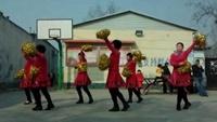 自得其乐广场舞,拜新年 。00_00_16-正背面演示及口令分解动作教学和背面演