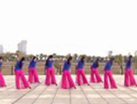 江西玲珑飞雨舞蹈 月落泉 背面展示 正背面演示及慢速口令教学