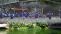 在潮中江姐妹舞蹈《闯码头》原创附教学口令分解动作演示