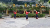 深圳清馨广场舞《走出空城走不出想念》编舞春英完整版演示及分解教学演示