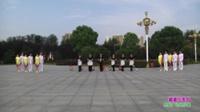 信阳映山红模特艺术团广场舞 婆婆也是妈 表演 团队版
