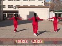 立华广场舞 习大大人人夸 正背表演与动作分解