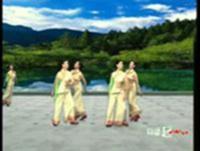 杨艺舞蹈 浏阳河 队形演示 原创附教学口令分解动作演示