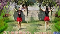 春景情雪广场舞原创《一吻红尘》水兵舞 附教学正背面演示及口令分解动作教学