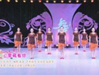 浮梁县浮韵舞蹈  心里藏着你 表演 口令分解动作教学