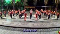 广西柳州幸福广场舞队五周年《晚会之一》完整版演示及分解教学演示