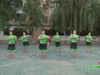 賀月秋廣場舞 大風歌 表演與動作分解 正背面口令分解動作教學演示