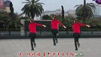 江西南昌玉米可乐广场舞《拜新年》背面正背面演示及口令分解动作教学