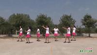 武漢新洲松菊舞蹈隊廣場舞   大風歌 表演 團隊版 完整版演示及分解教學演示