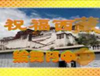 阿中中梅梅翠翠广场舞 祝福西藏 表演与动作分解 口令分解动作教学